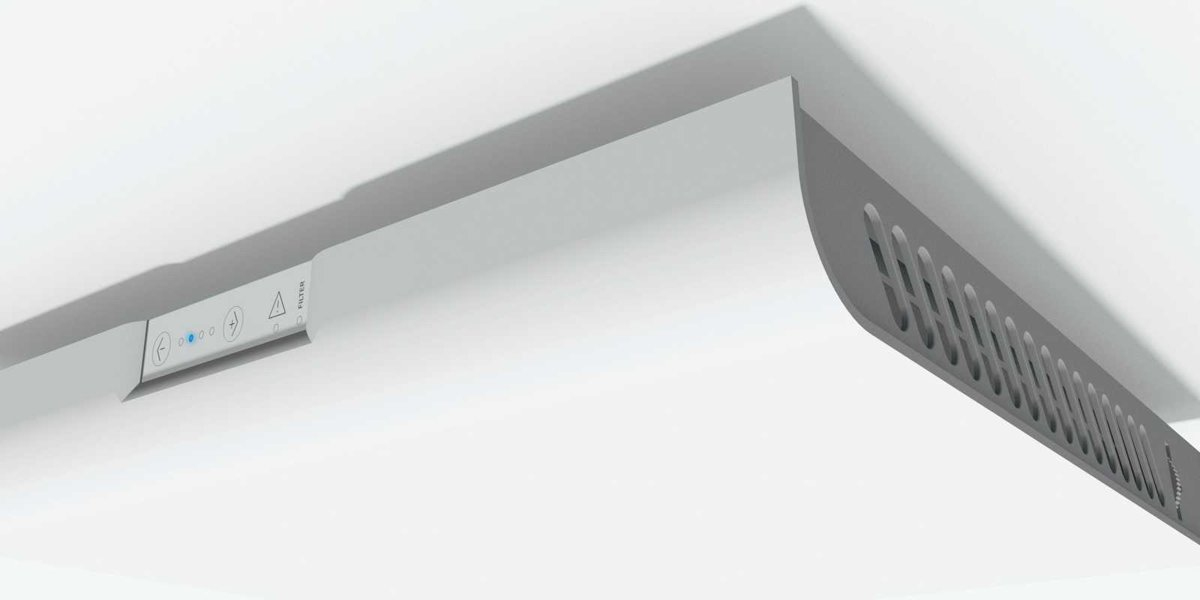 Zehnder ComfoSpot 50 komplektā ar montāžas čaulu